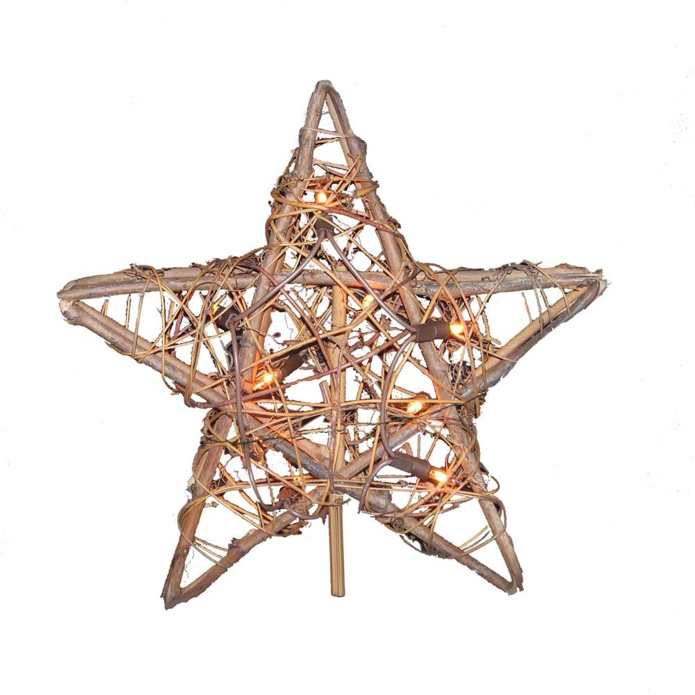 Christmas Star Natural Tree Topper | Christmas Wikii