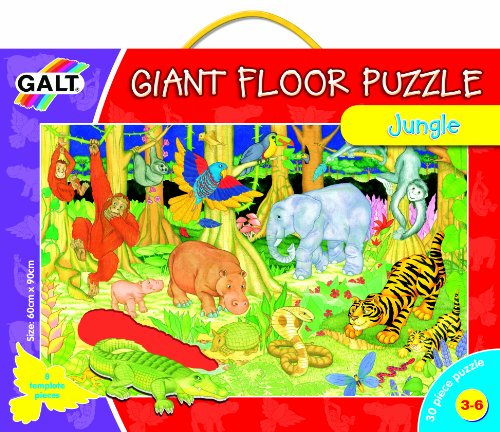 Cheap Fun Galt Giant 36″ Floor Puzzle – Jungle (B00009W9K1)