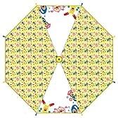 こびとづかん カラフル名札ネーム付 子供用 窓付き傘 55cm ( 品番 : 70015 )