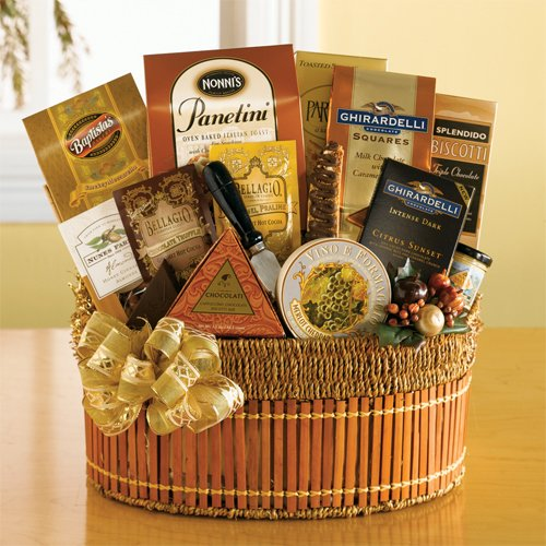 California Gold Gourmet Gift Basket By California Delicious