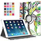MoKo IPad Air 2 Case - 360 Degree Rotating Cover Case For Apple IPad Air 2 (iPad 6) 9.7 Inch IOS 8 Tablet, Lucky...