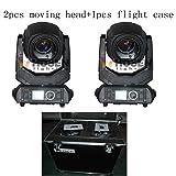 Hosenlighting 2PCS +1 flight case 10R 280W beam spot wash 3in1 moving head light