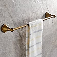 buy Leyden Antique Bathroom Accessories Brass Towel Bar Home Decor Towel Holder Towel Bars Wall Maounted