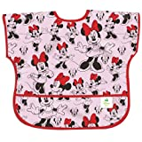 Bumkins Disney Baby Waterproof Junior Bib, Minnie Classic, 1-3 Years