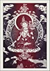 White Tara  Cloth Print