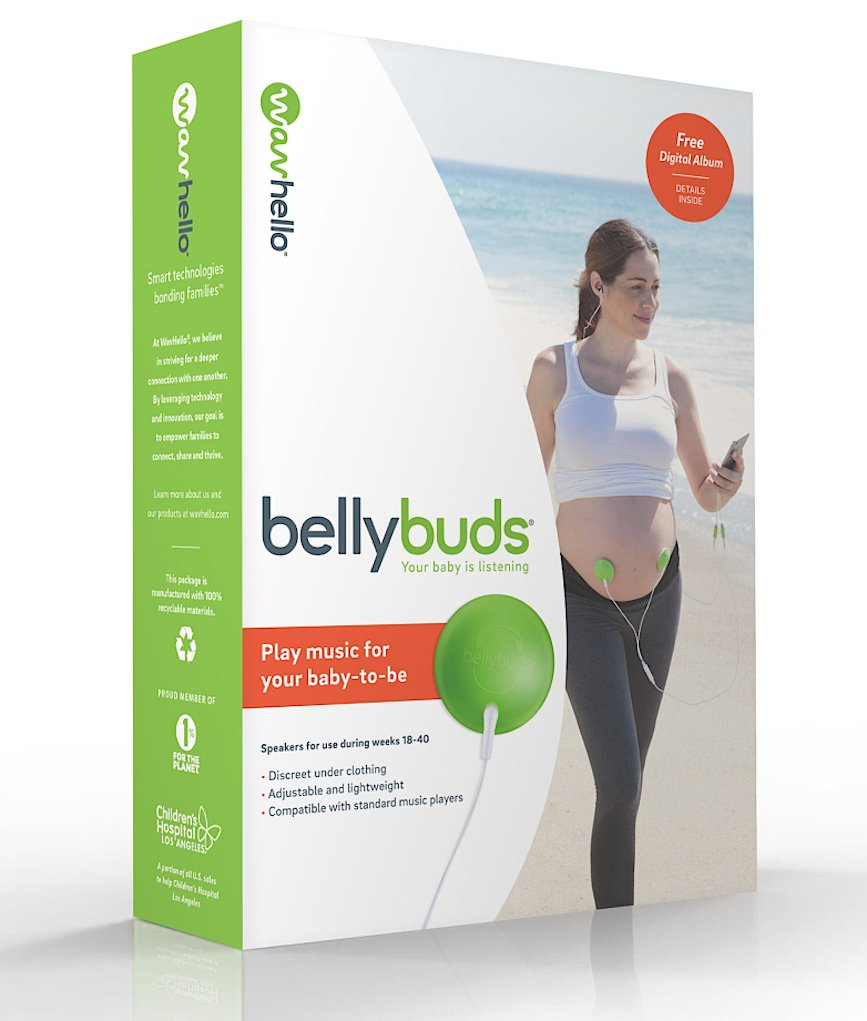 BellyBuds (5th Generation) | Prenatal Pregnant Headphones
