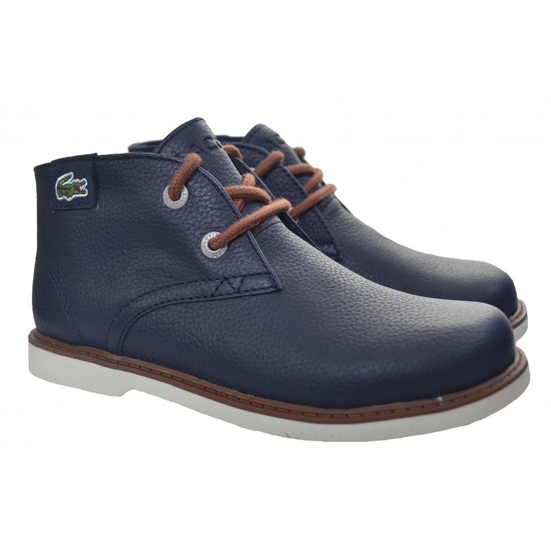 Lacoste footwear Lacoste Kids Navy Blue Sherbrook Mid Top Boots günstig online kaufen