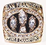1988 San Francisco 49ers Super Bowl Championship Replica Ring Size 11 - Joe Montana - Shipped from USA. - San Francisco 49ers Memorabilia