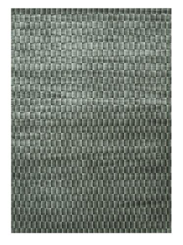 Trade-Am Illusion Rug, Grey, 5' x 7'