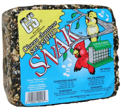 Cheap C & S Products Songbird Snak, 6-Piece (CS06213)