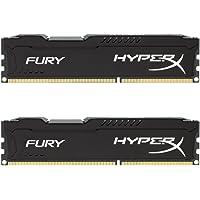 Kingston HyperX FURY 16GB (2 x 8GB) PC3-14900 1866MHz DDR3 240-Pin CL10 DIMM Desktop Memory (Black)