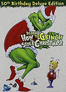 Dr. Seuss' How the Grinch Stole Christmas (50th Anniversary Deluxe Edition)