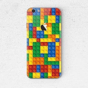 QRIOH iPhone 6 Plus/6S Plus [iPhone Back Cover] Printed Design [Scratchproof + Protective]- Lego Pattern Case for iPhone 6 Plus/6S Plus