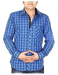 BLACK & WHITE Men's Slim Fit Shirt - B00WMR843O
