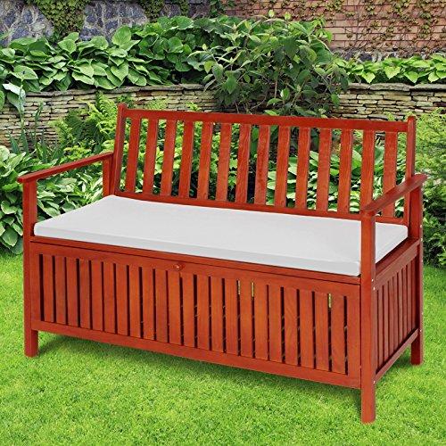 Miadomodo cassapanca panchina panca giardino esterno for Panchina cassapanca