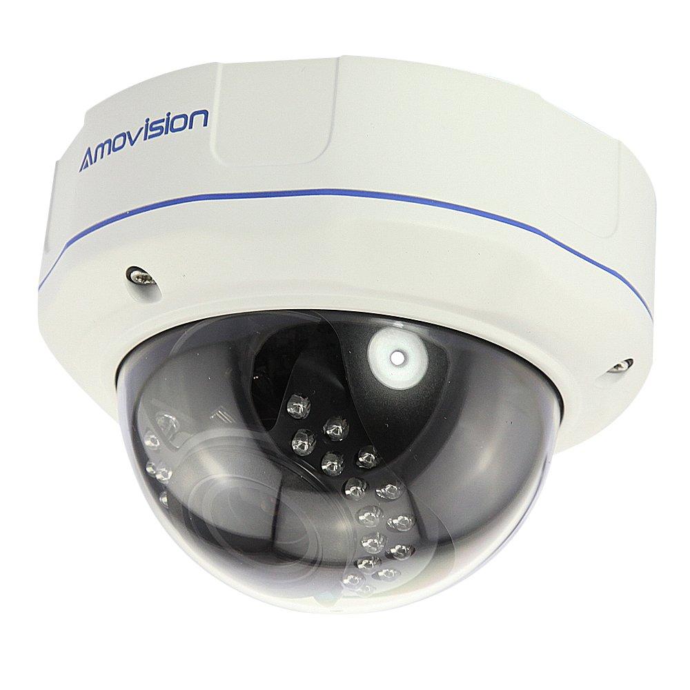 Amovision® AMQ1055RV 1080P H.264 Megapixel Objektiv 49mm IR Nachtsicht Outdoor Ip Dome  mit POE ONVIF Funktion  BaumarktÜberprüfung und weitere Informationen