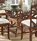Indoor Rattan & Wicker Rectangular Dining Table TC Antique