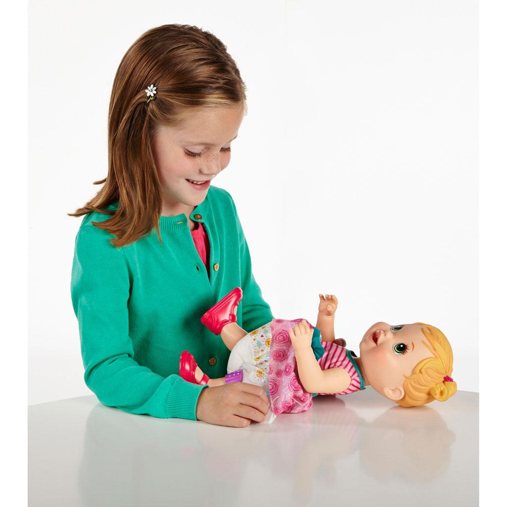 Baby Alive Doll Baby Gets A Boo Boo Blonde New