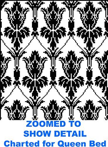 Sherlock's Wallpaper Coverlet/Afghan: A Bit of Baker St. for Your Bed in Filet Crochet PDF