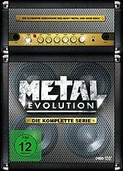 Metal Evolution - Die komplette Serie (3 Discs, Steelbook)