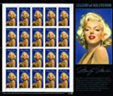 Marilyn Monroe Legends of Hollywood Collectible Stamp Sheet