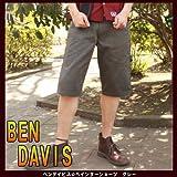 36:当日出荷します★18:00までのご注文★BENDAVIS BEN DAVIS ベンデイビス #526 PAINTER SHORTS ペインターショーツ クロップドパンツ ワークパンツ グレー S M L