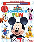 Disney Mickey Mouse Clubhouse: Schoolhouse Fun: A,B,Cs & 1, 2, 3s
