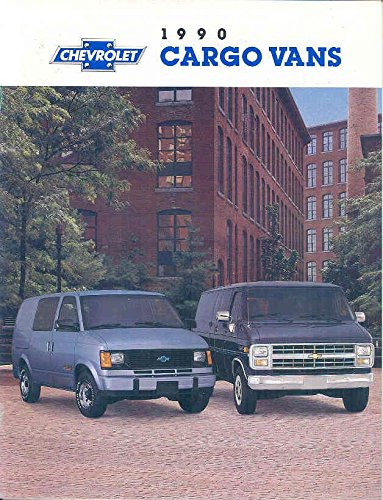 1990 Chevrolet Astro Van Chevy Van Cargo Truck Brochure