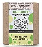 Biggs & Featherbelle Bargarita Natural Bar Soap Sea Salt With Lime 3.5 Oz