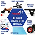 Abdominal Roller for Perfect Abs - Ab Exercise Equipment for Lower Ab Workout & Core Abs - Perfect Abdomen Machine with Knee Pad for Home