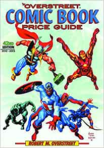 42nd edition overstreet comic book price guide free