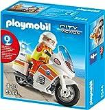 PLAYMOBIL 5544 - Notarzt-Motorrad mit Blinklicht