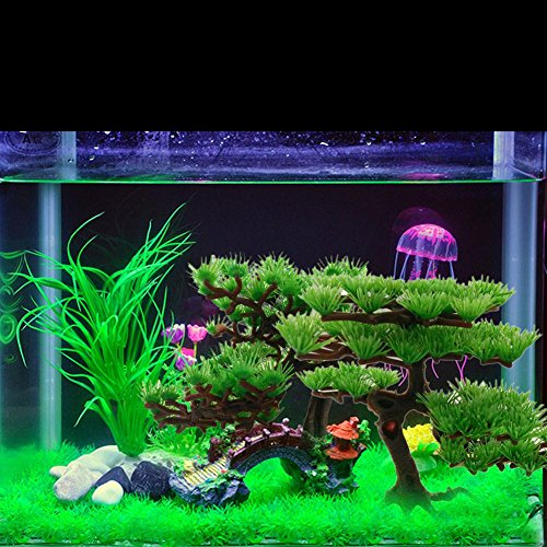 pin plante artificielle d aquarium r servoir de poissons plante en plastique aquarium fond. Black Bedroom Furniture Sets. Home Design Ideas