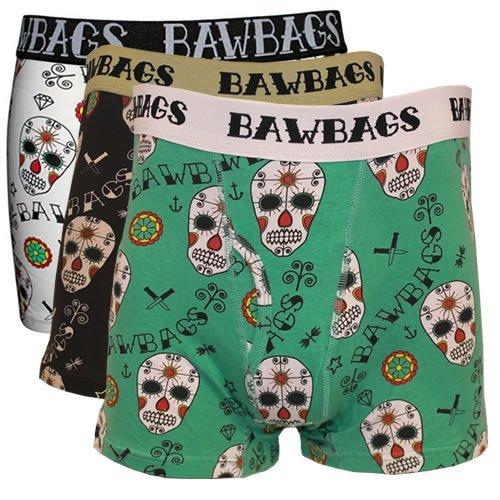 BawBags 3 pack Boxers - Tag der Toten - 3 pack Large