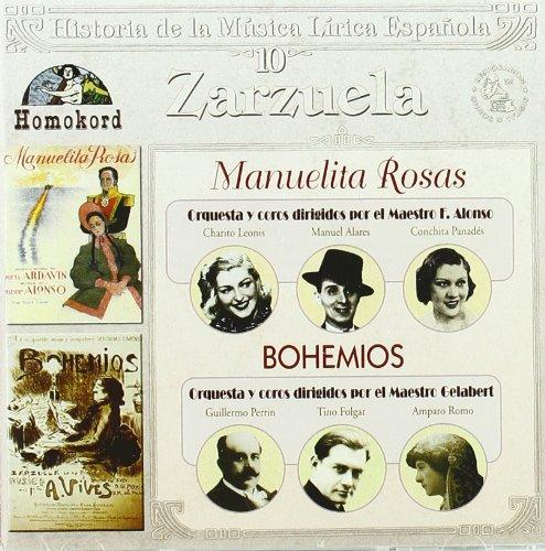 Manuelita Rosas / Bohemios - VVAA - CD