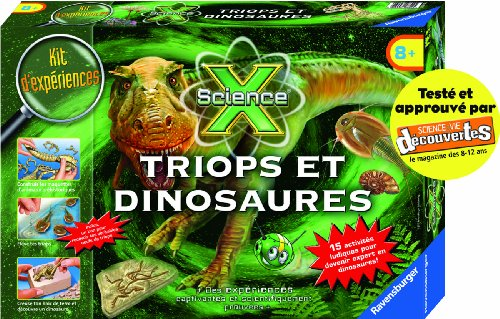 Ravensburger - 18892 - ScienceX - Triops et dinosaures