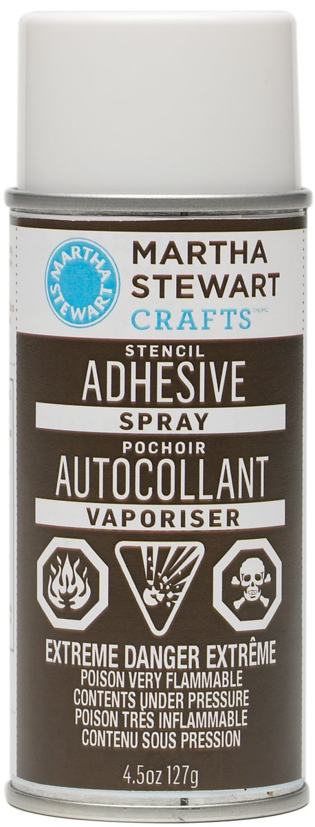 Martha Stewart 32203 4-1/2-Ounce Stencil Adhesive Spray