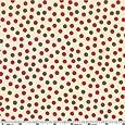 Moda Funky Monkey Dots Cream Fabric