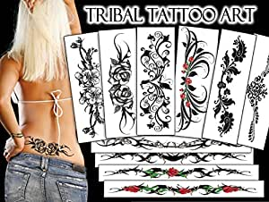 TEMPORARY TATTOO FACTORY Tribal Tattoo Art