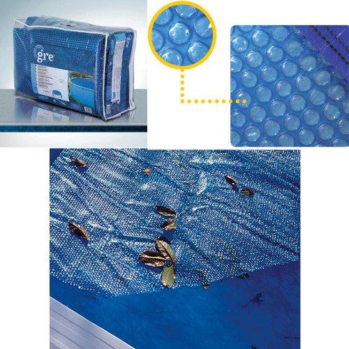 Gre CPROV810 - Copertura isotermica per piscina ovale 810x470,  Dim: 805x460