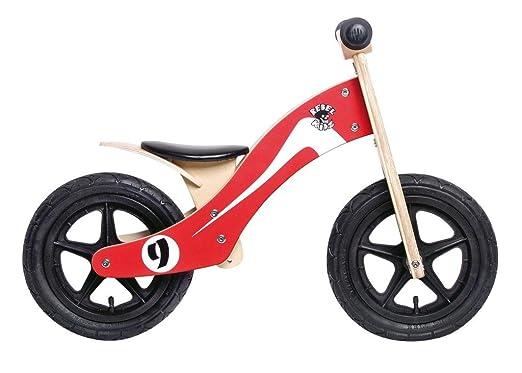 "Rebel Kidz Wood Air, 12"", Retro Racer rouge/blanc"