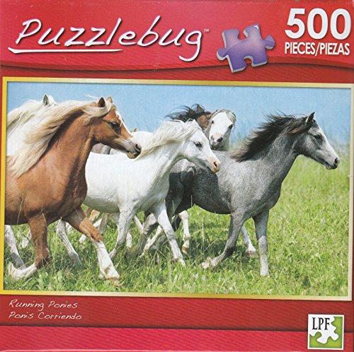 Puzzlebug 500 - Running Ponies
