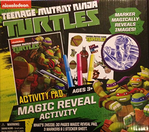 Teenage Mutant Ninja Turtle Magic Reveal Activity Set