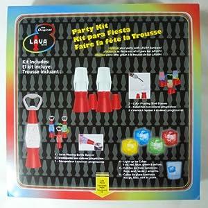 The Original Lava Brand 7-Piece Barware Party Kit