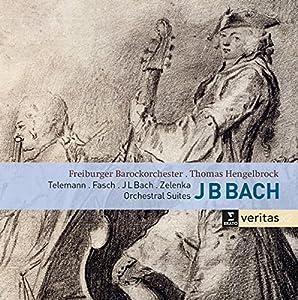 Bach, Telemann, Fasch, Zelenka: 4 Orchestral Suites by Erato