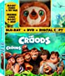 The Croods [Blu-ray + DVD + Digital Copy with Plush Toy] (Bilingual)