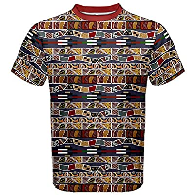 Brown In the African Style Men's Sport Mesh Tee