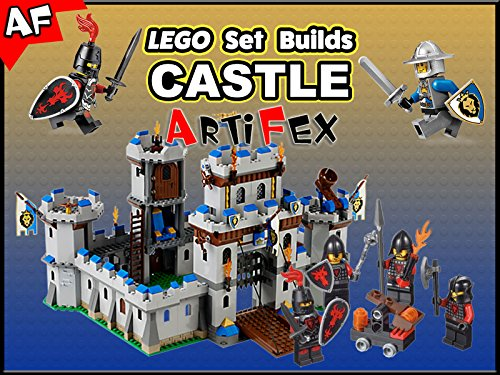 Clip: Lego Set Builds Castle - Season 1