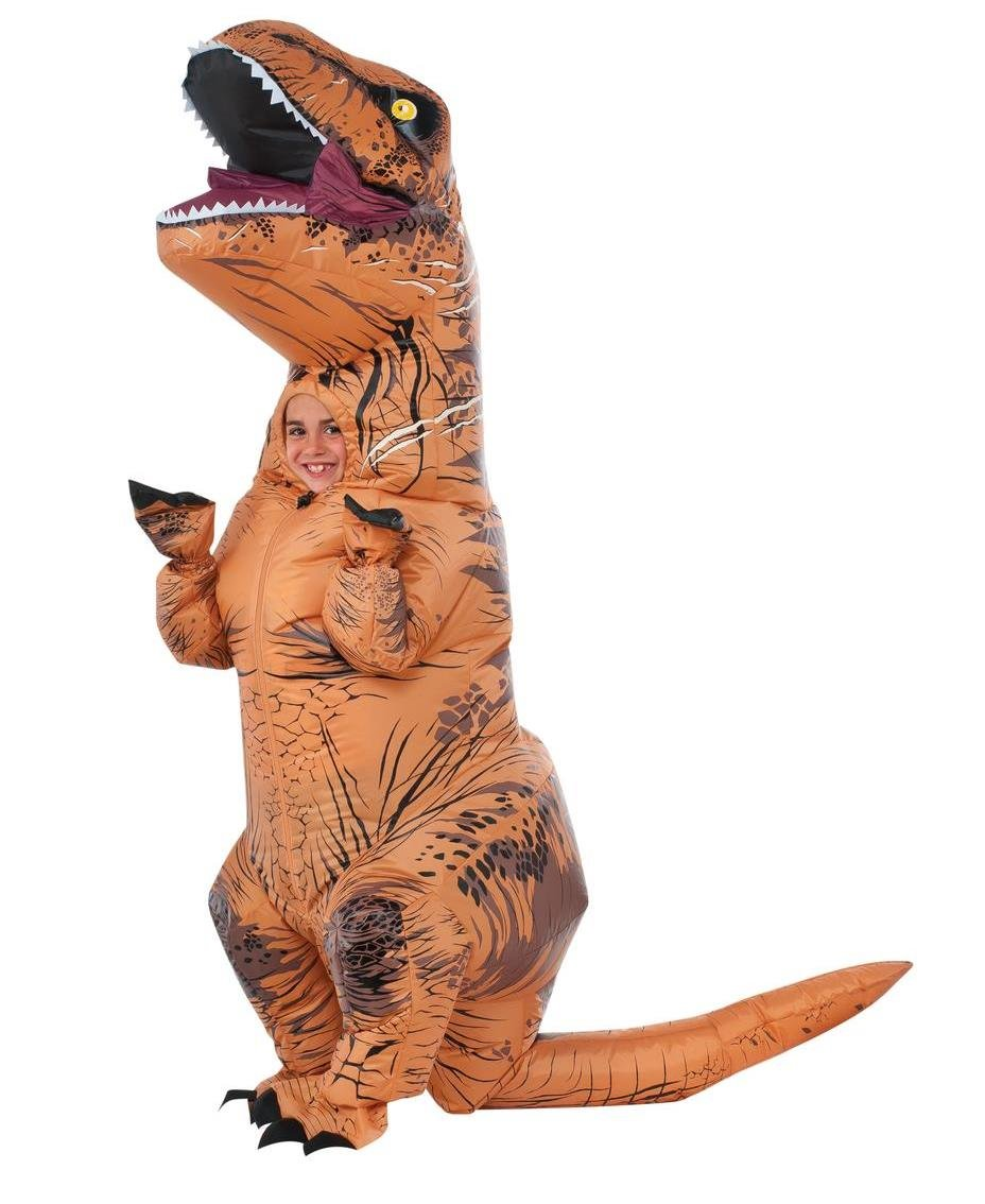 Kids Inflatable T Rex Jurassic World Costume