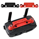 KUUQA 2 Pcs Upgrade Version Transmitter Controller Stick Thumb Protective Clip Rocker for DJI Mavic Pro,Red and Black (DJI Mavic not Included) (Color: Red-Black, Tamaño: For Mavic Pro)